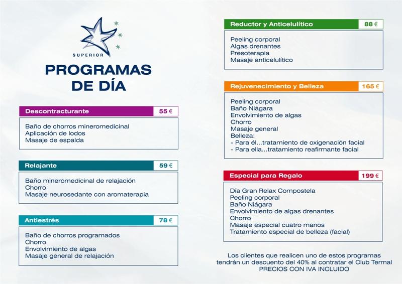 Tratamientos, Servicios y Programas