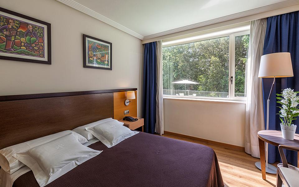 Habitación doble Hotel Balneario de Compostela
