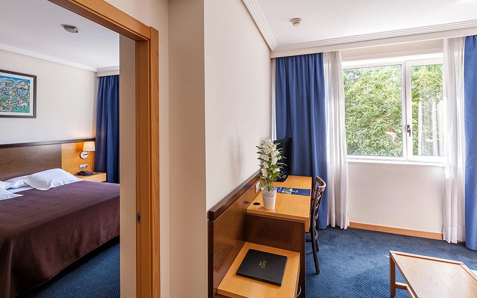 Habitación Familiar Hotel Balneario de Compostela
