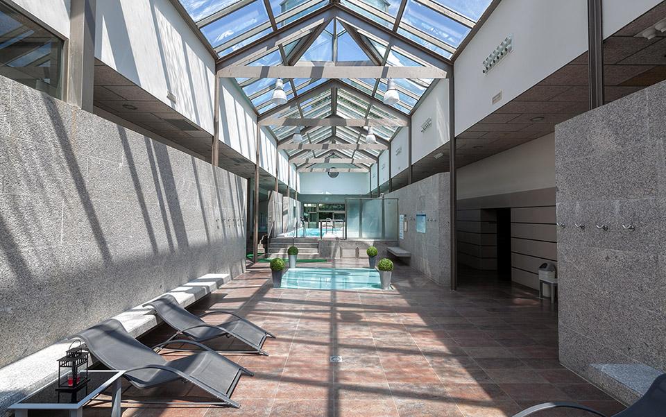 Interior Balneario Hotel Balneario de Compostela