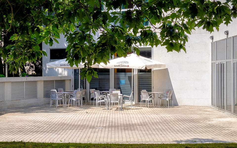 Terraza Hotel Balneario de Compostela
