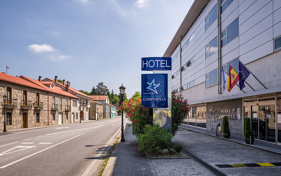 Exterior Hotel Balneario de Compostela