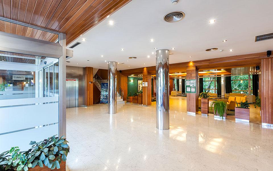 Recepción Hotel Balneario de Compostela